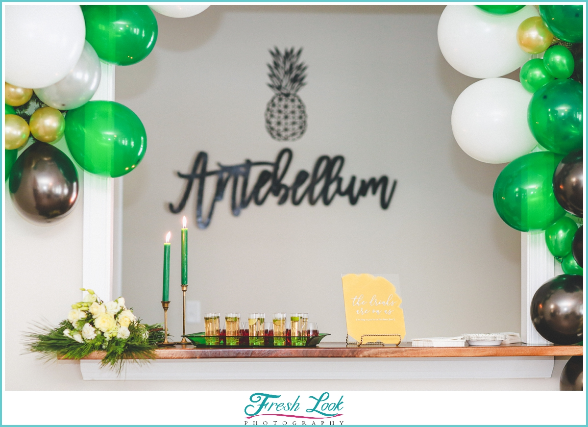 Antebellum of New Kent wedding reception
