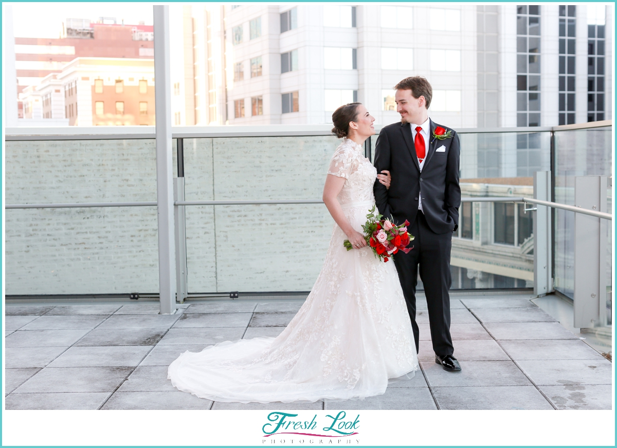 Norfolk Slover Library wedding