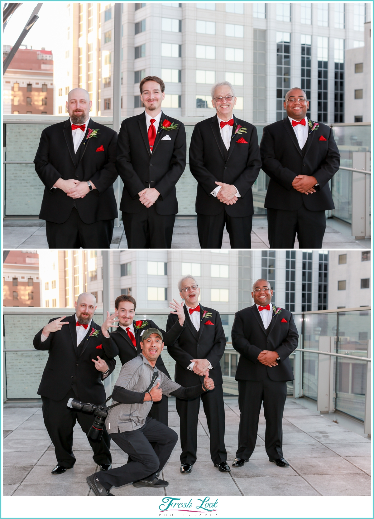 groom and groomsmen poses