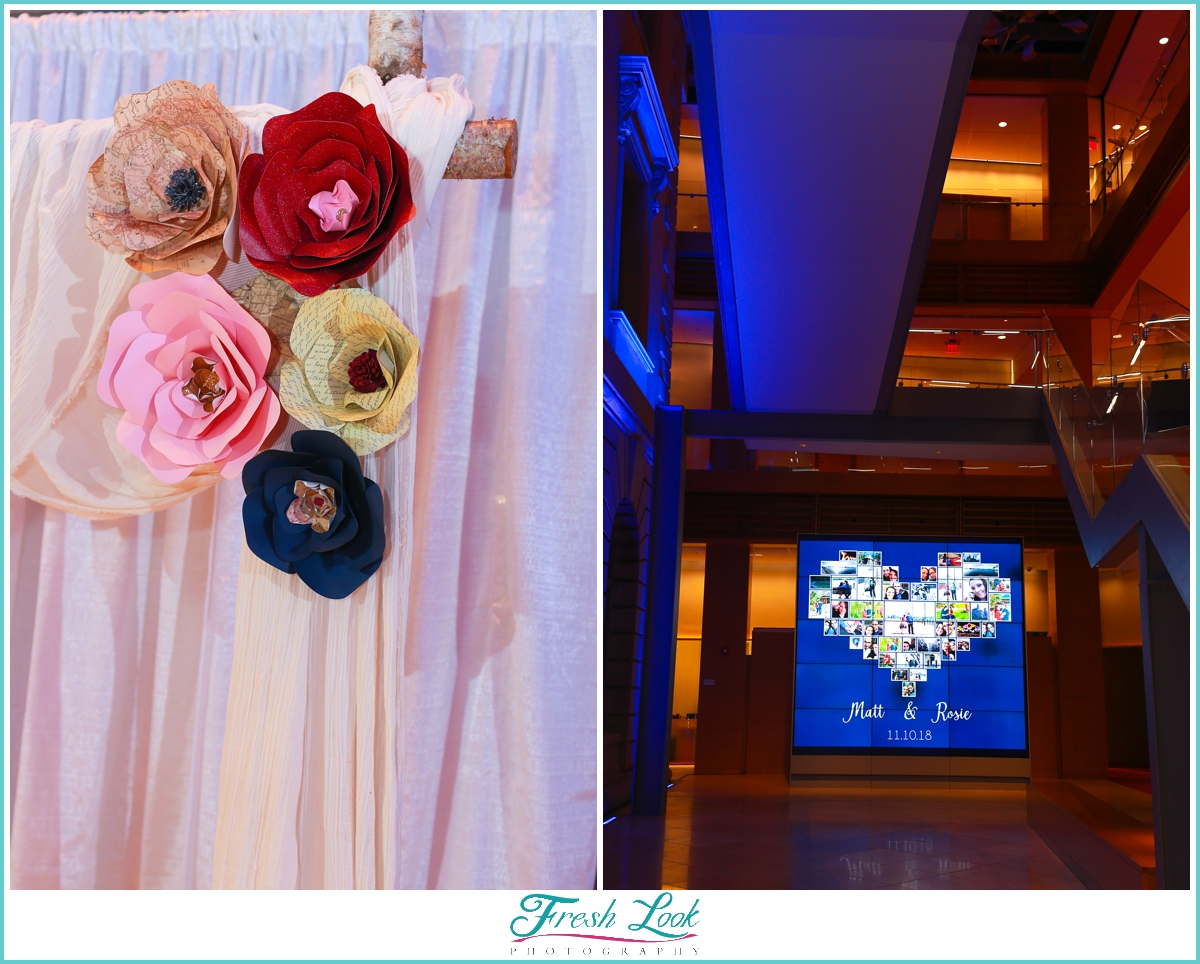 Slover Library wedding details