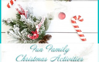 Fun Christmas Family Activities