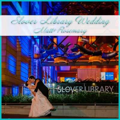 Slover Library Wedding