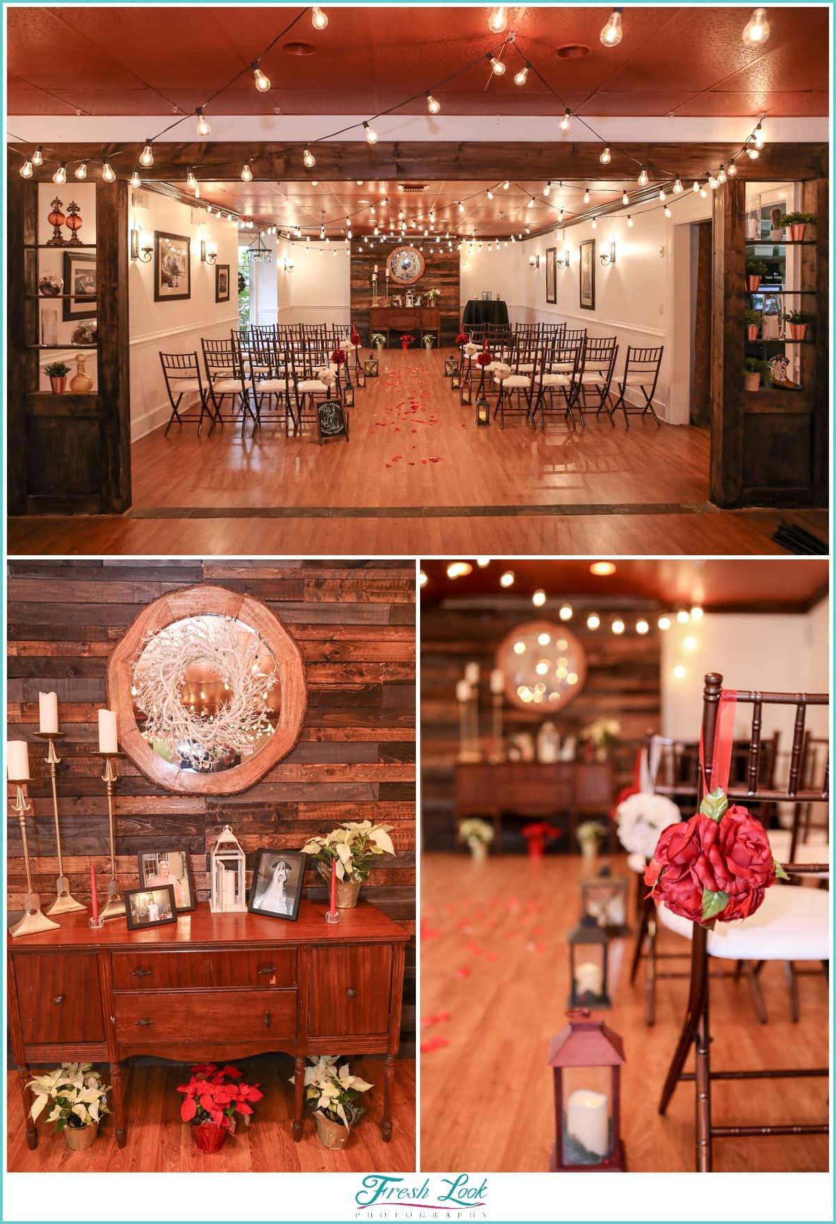 Sweetwater Cuisine intimate wedding ceremony