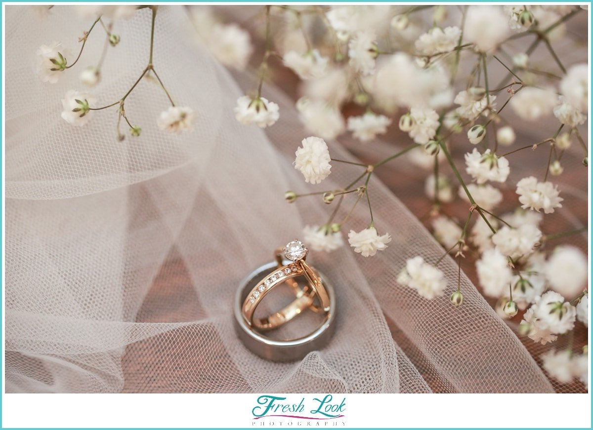 country themed wedding rings