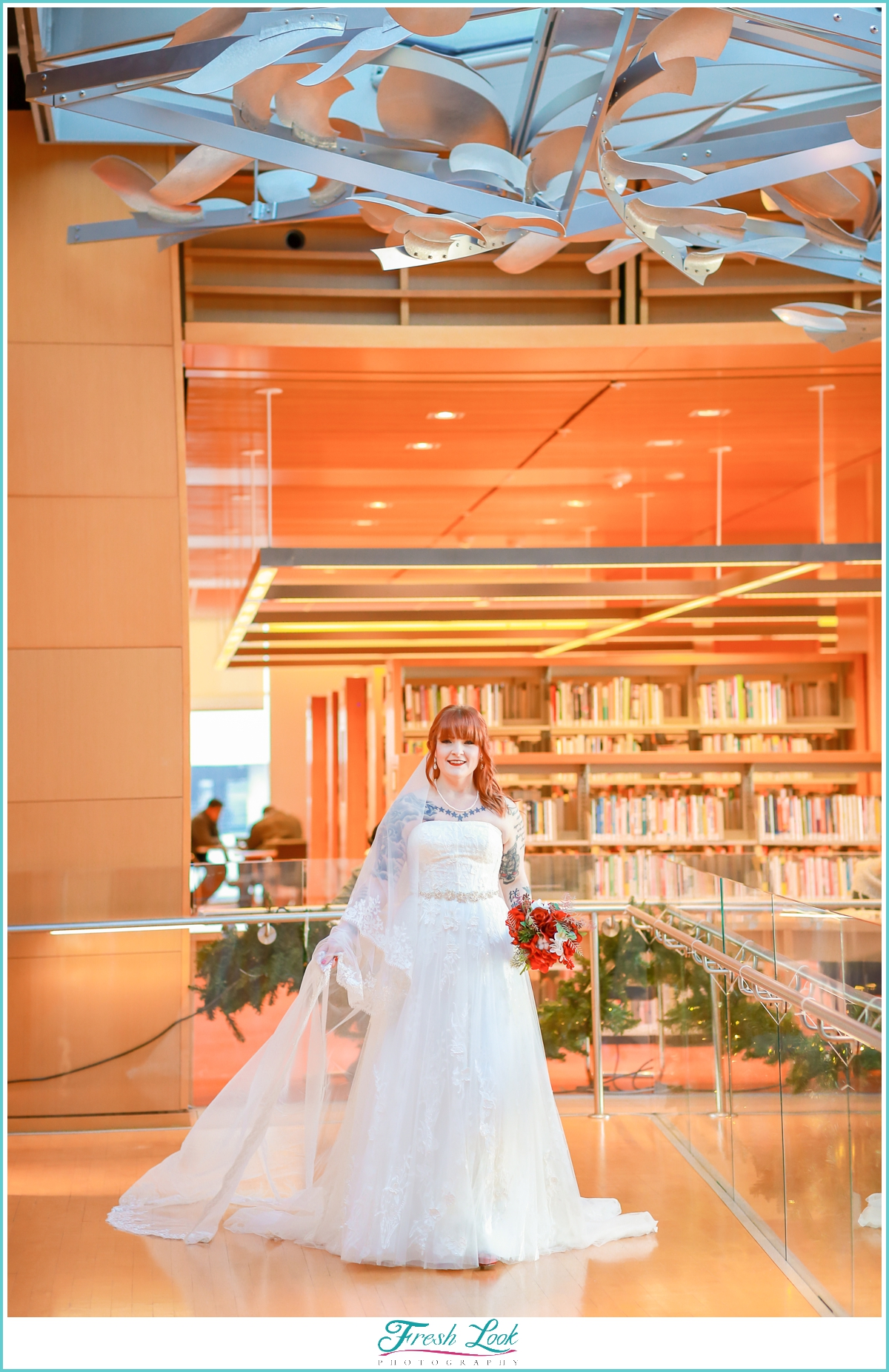 Slover Library Wedding Photographer