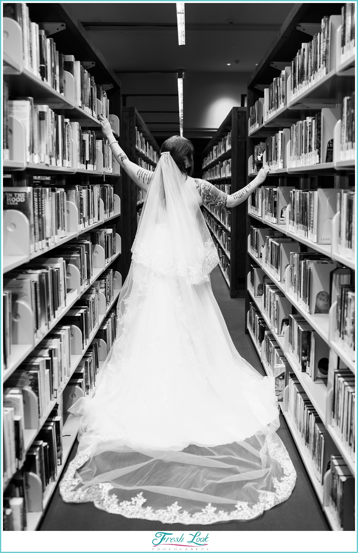 Bride in the Library Books