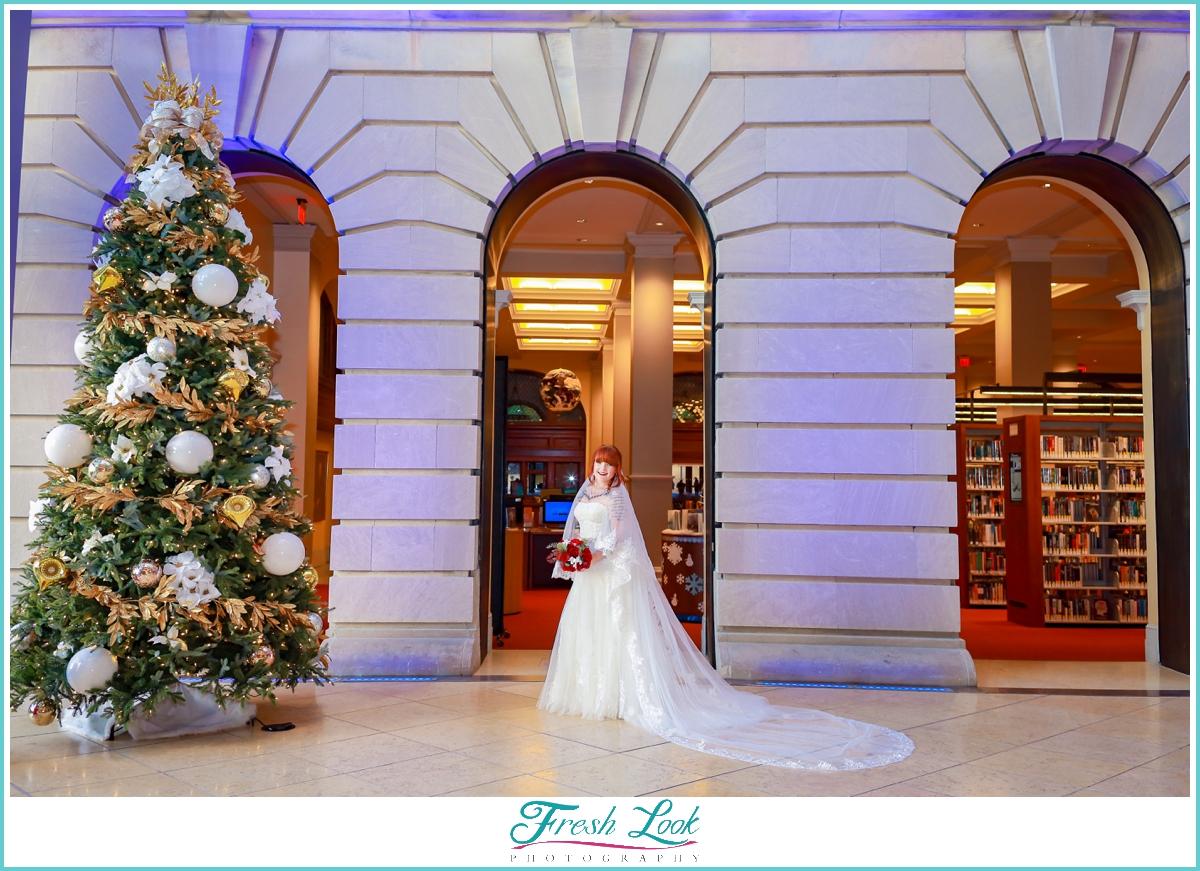 romantic Virginia Beach bridal session