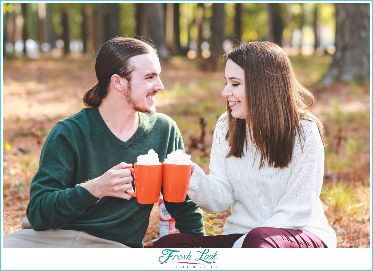 fun ideas for engagement session