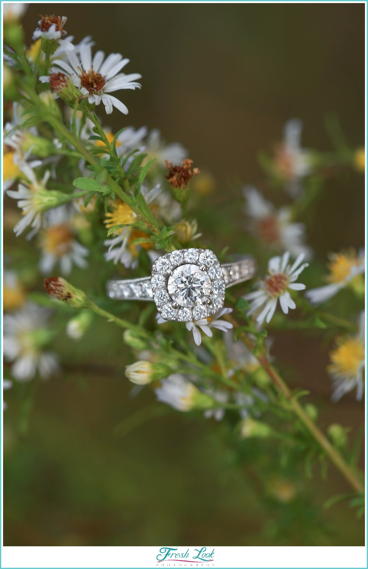 unique engagement ring idea