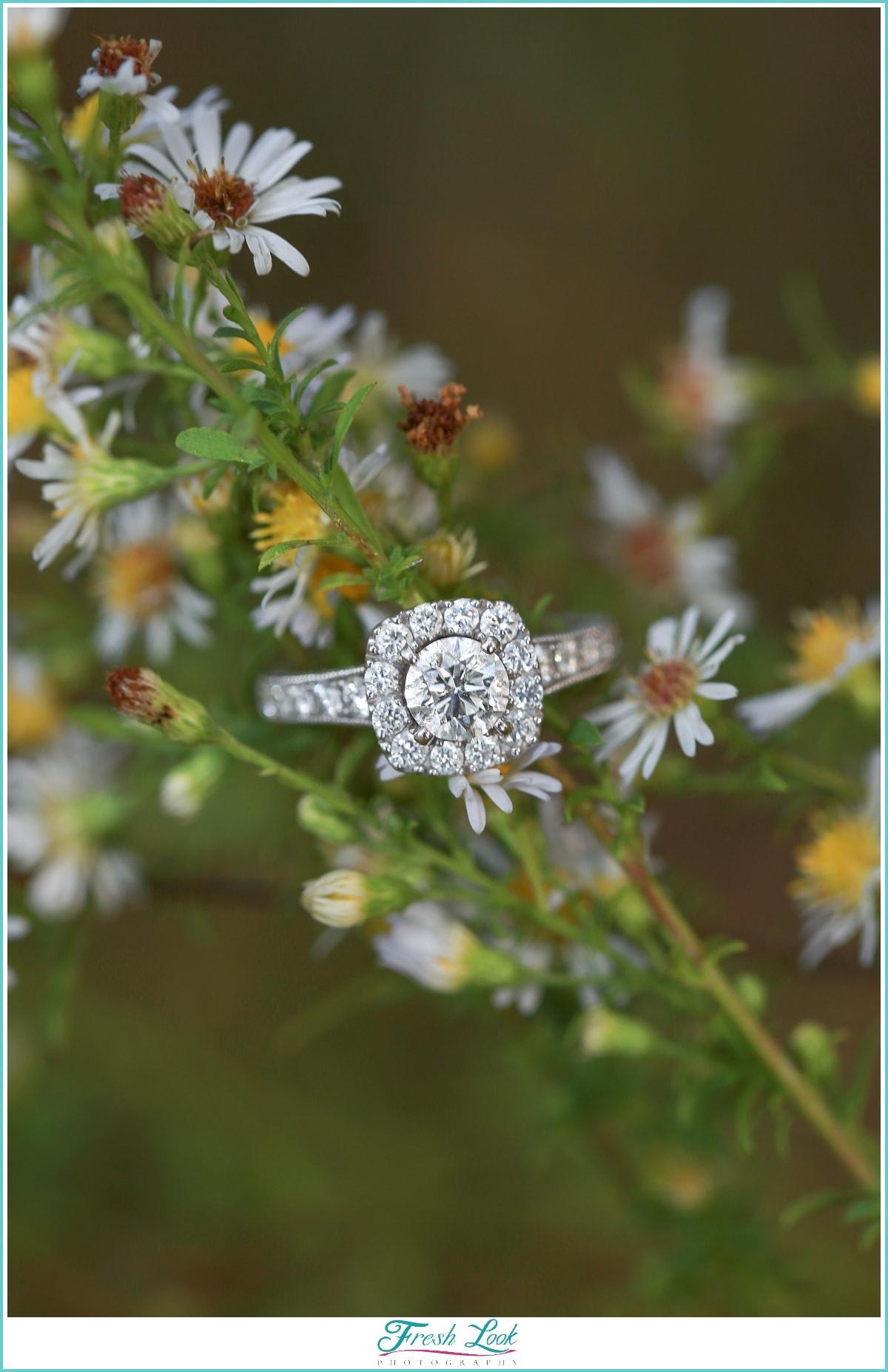 unique engagement ring idea