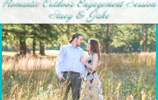 Romantic Outdoor Engagement Session