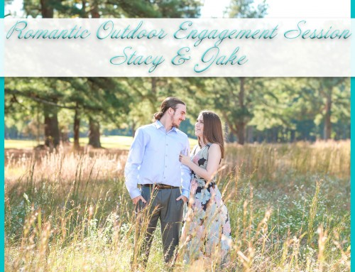 Romantic Outdoor Engagement Session | Stacy+Jake
