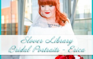 Slover Library Bridal Portraits