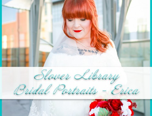 Slover Library Bridal Portraits | Erica