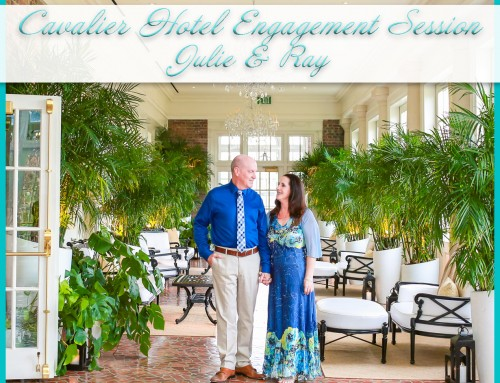 Cavalier Hotel Engagement Session | Julie+Ray