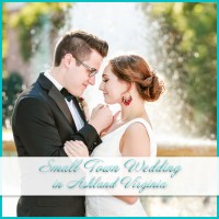 Charming small town wedding
