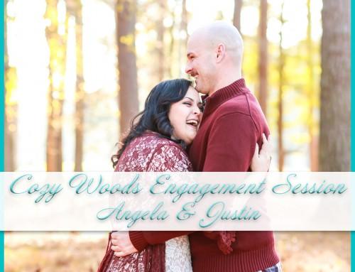 Cozy Woods Engagement Session   Angela+Justin