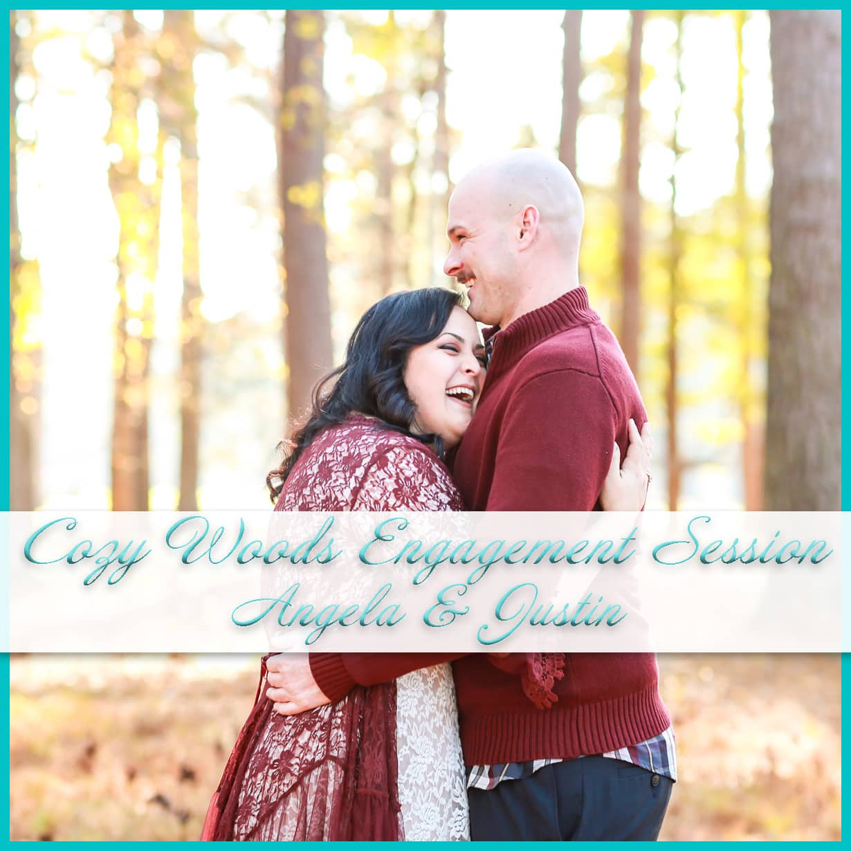Cozy Woods Engagement Session