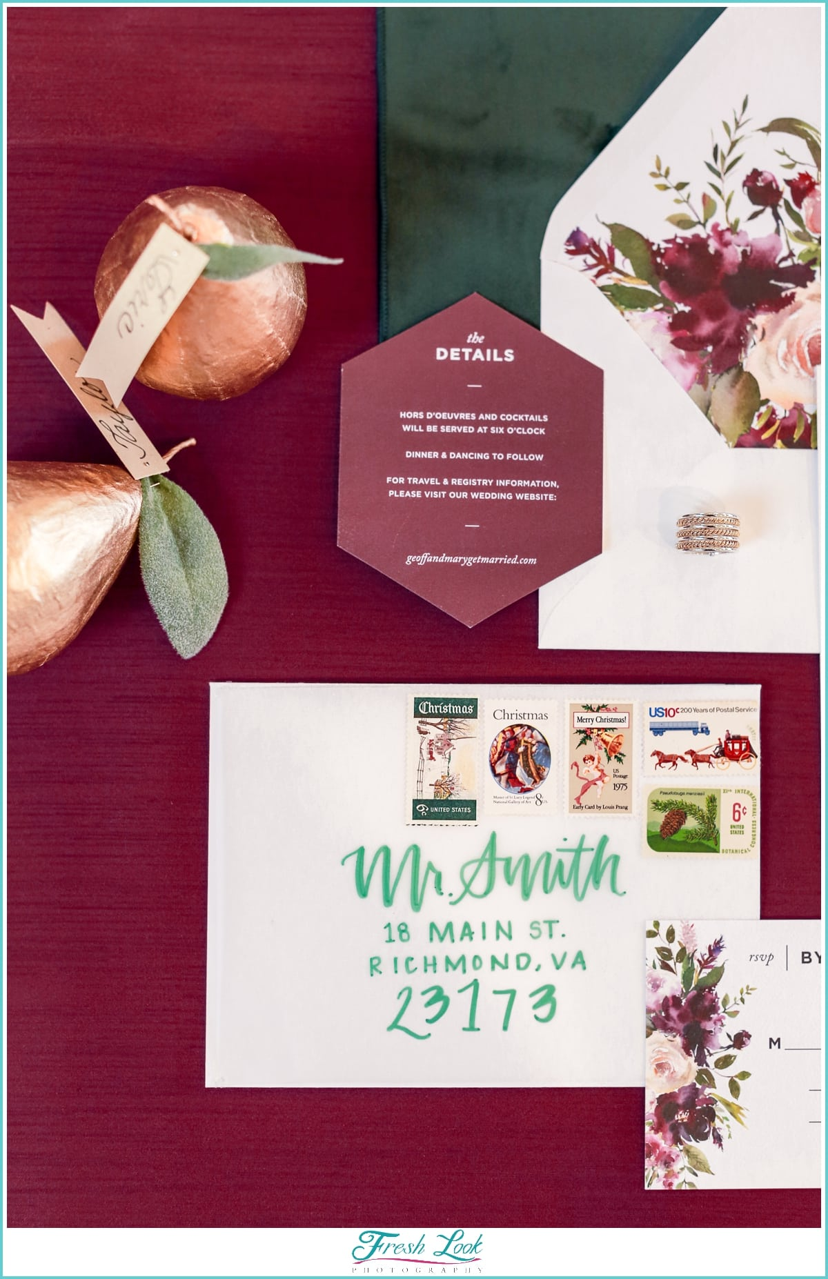 fall wedding stationery inspiration
