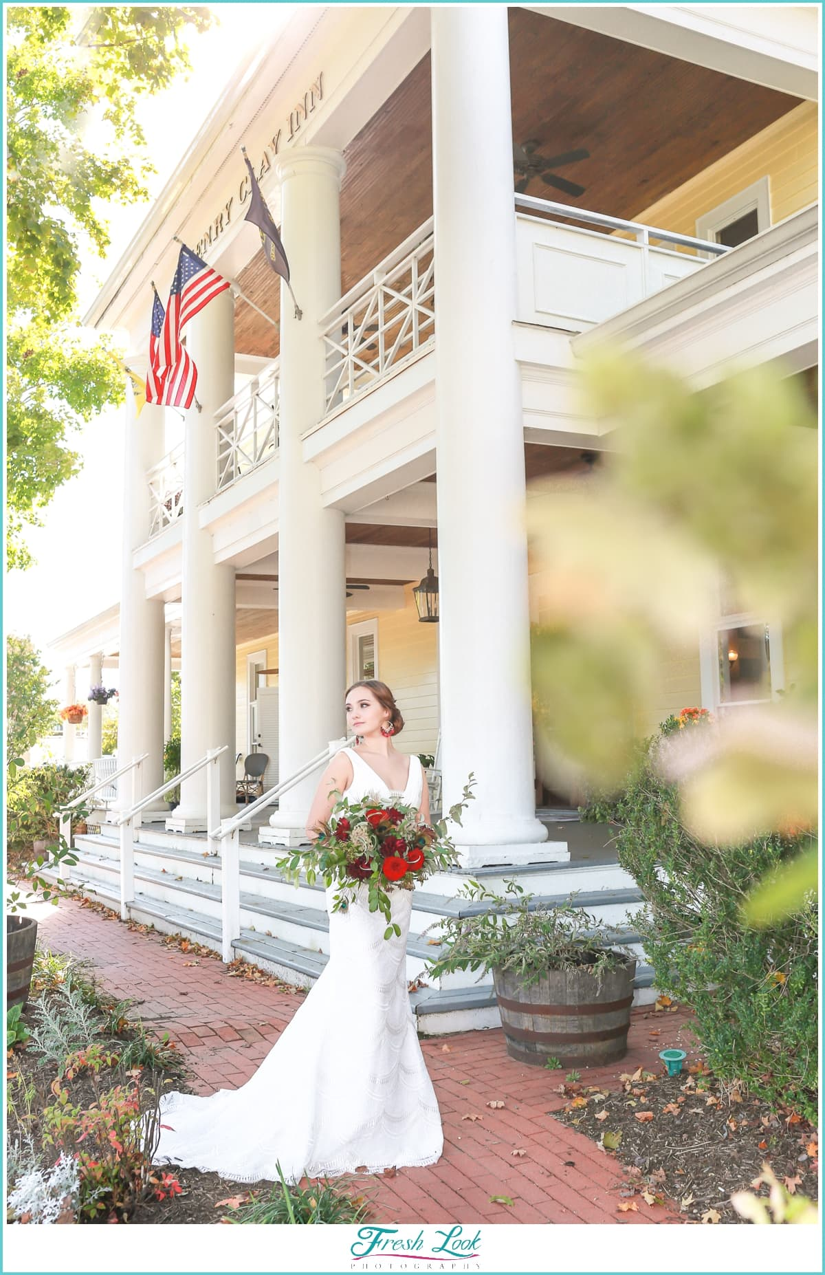 Bride at Henry Clay Inn Ashland Va