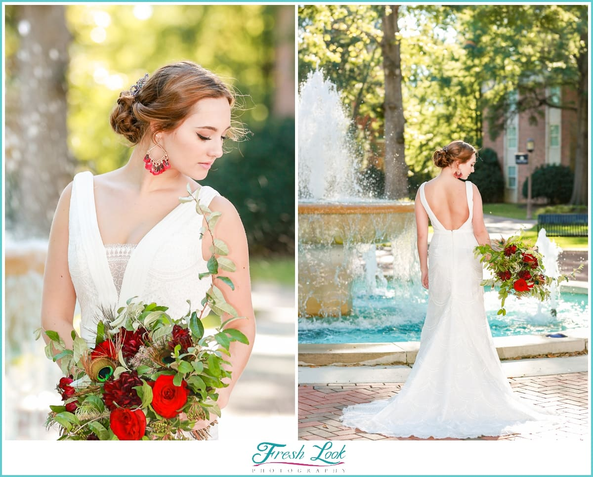 Ashland Virginia wedding bride