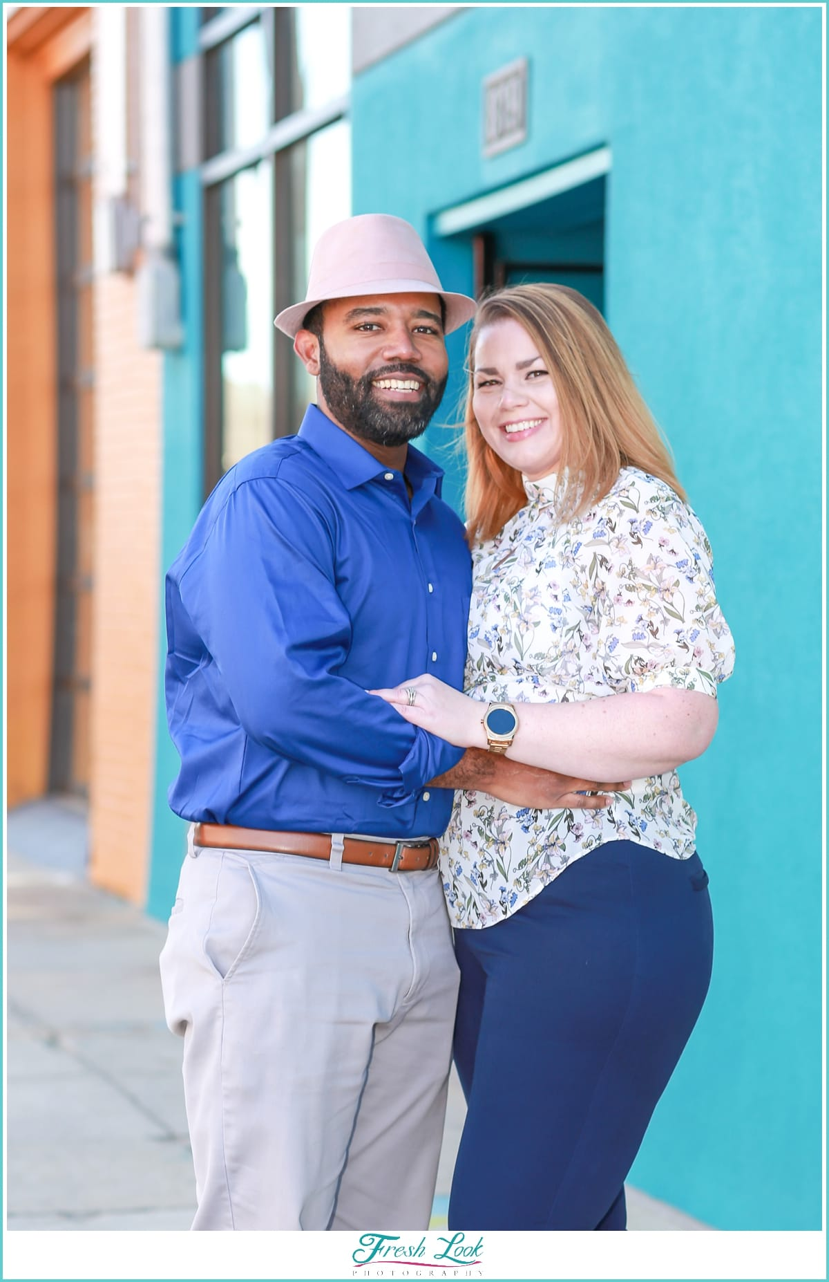 husband and wife photo shoot