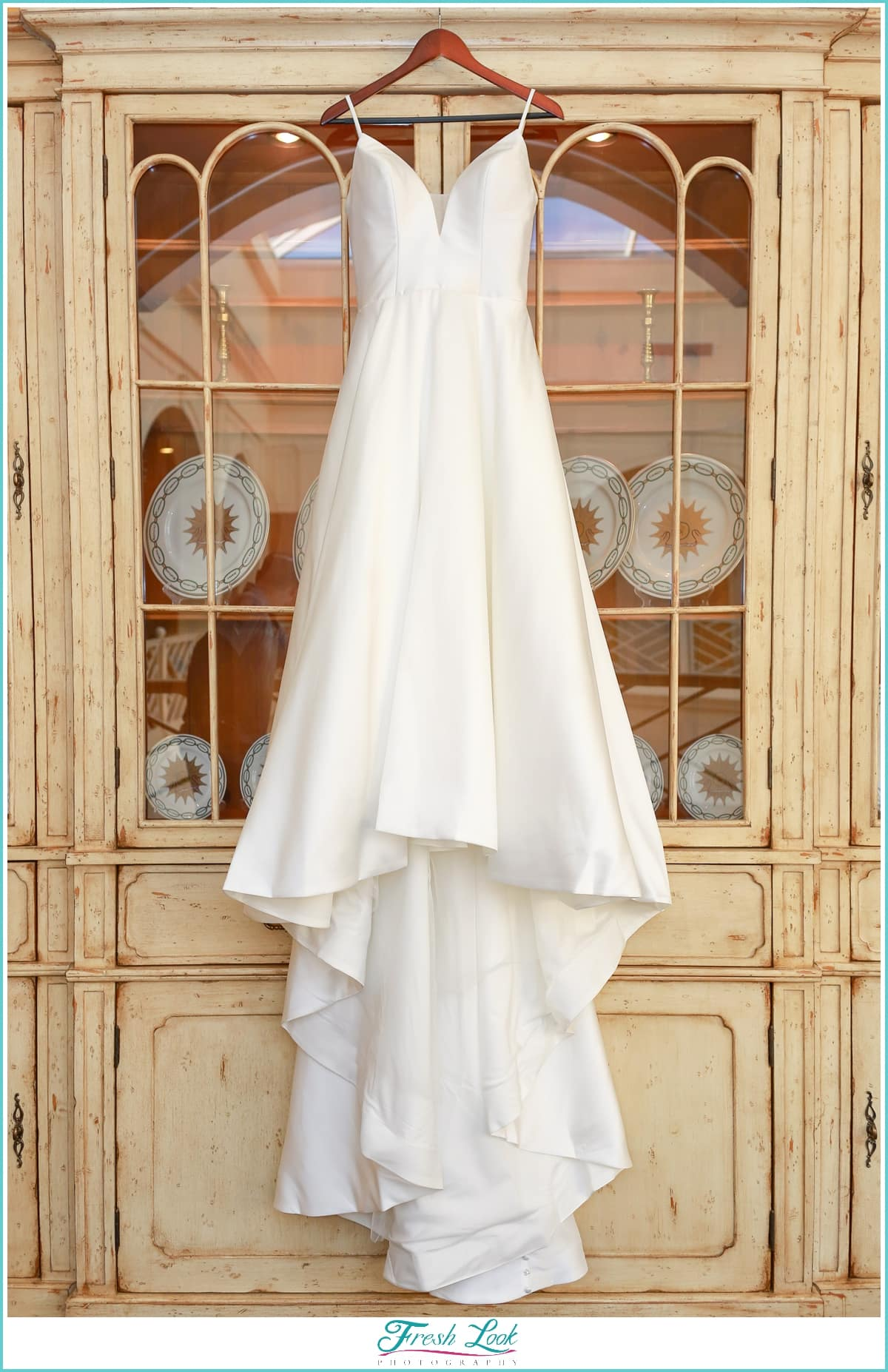 Wedding dress at Founders Inn