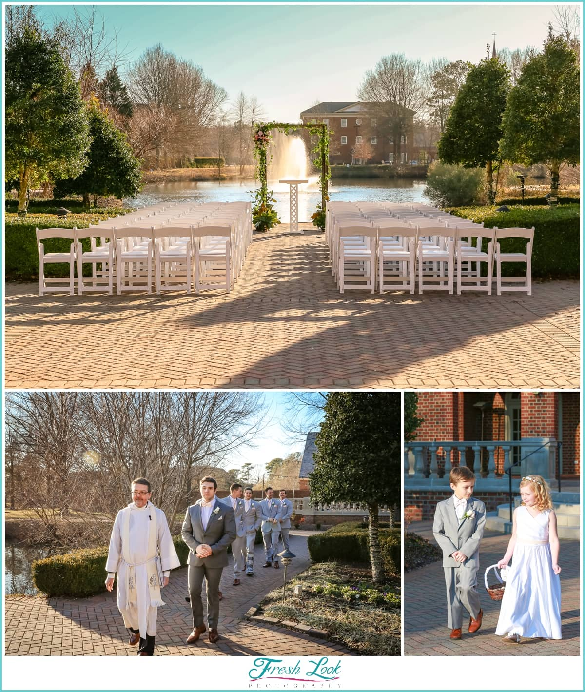 Founders Inn Wedding Ceremony