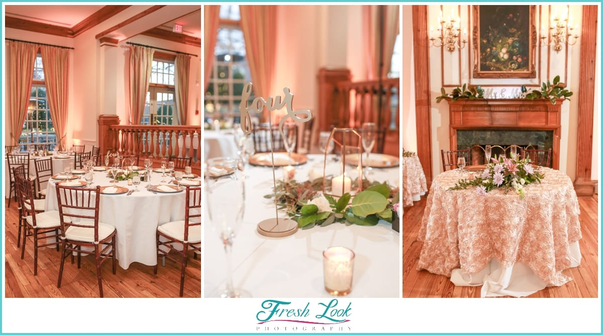 Founders Inn Wedding Reception