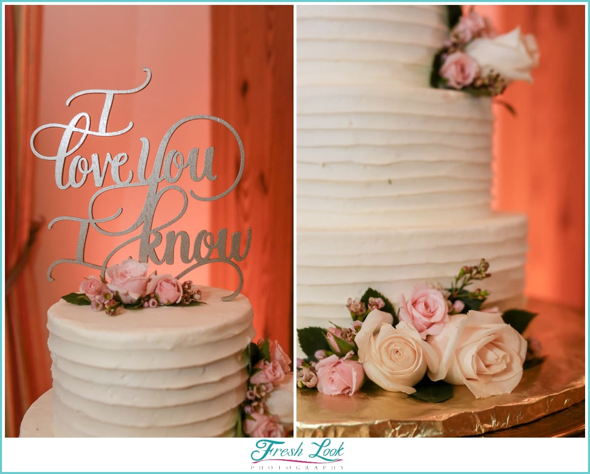 I love You I Know Star Wars Cake Topper