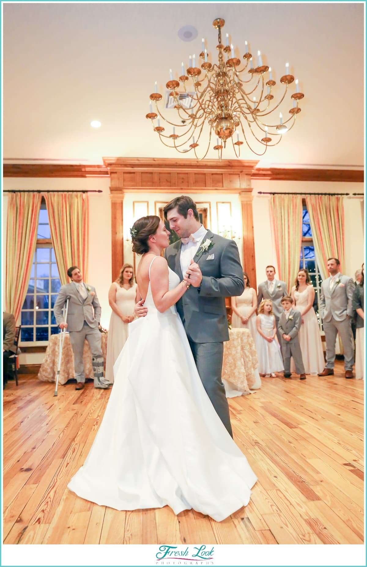 first dance at Founders Inn and Spa