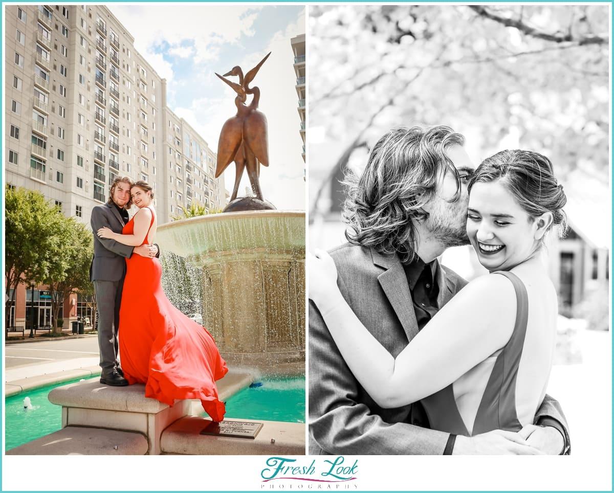 Virginia Beach engagement photo shoot