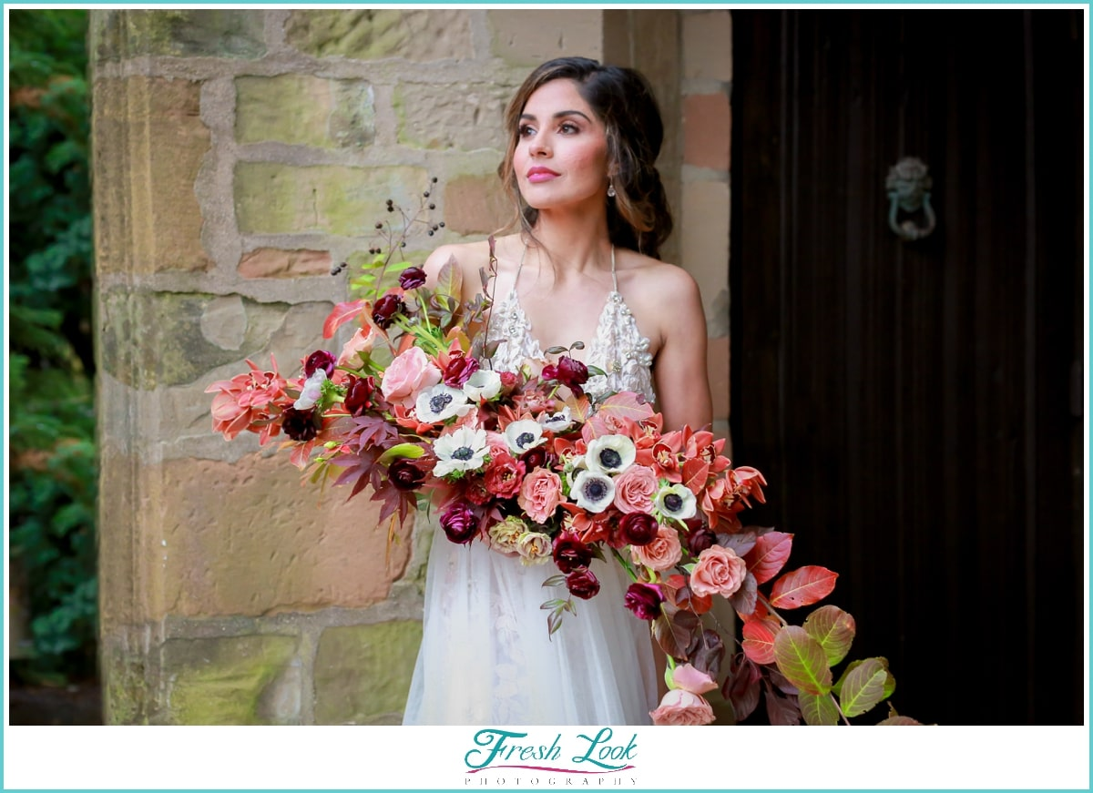 Intrigue Design Wedding Bouquet