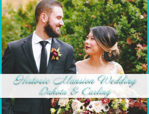 Historic Mansion Wedding | Dakota & Carling