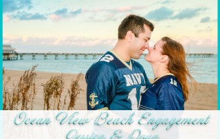 Ocean View Beach Engagement Session