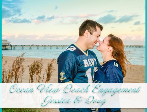 Ocean View Beach Engagement Session | Jessica+Doug