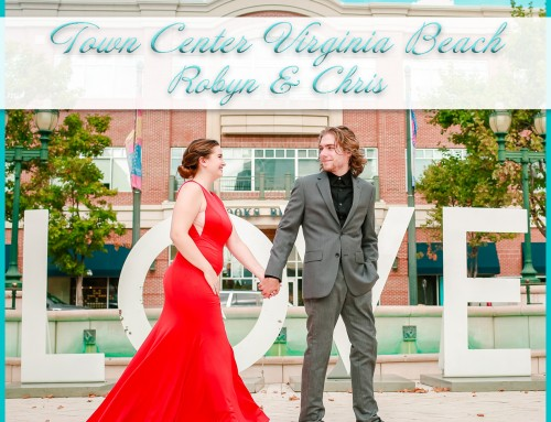 Town Center Virginia Beach Couples Session | Robyn+Chris