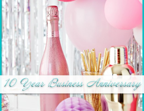 10 Year Business Anniversary | Cheers to Us