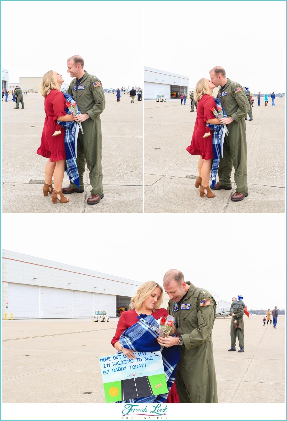 military family reunion
