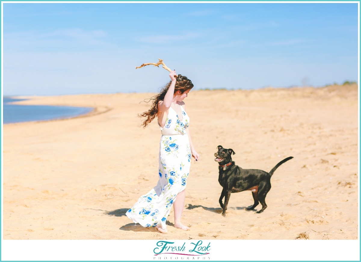 Virginia Beach engagement photoshoot
