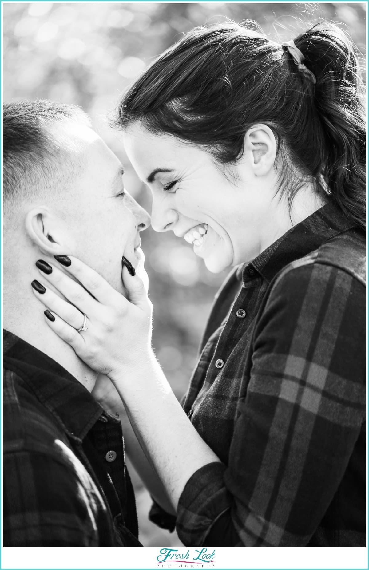 fun engagement photo shoot photos