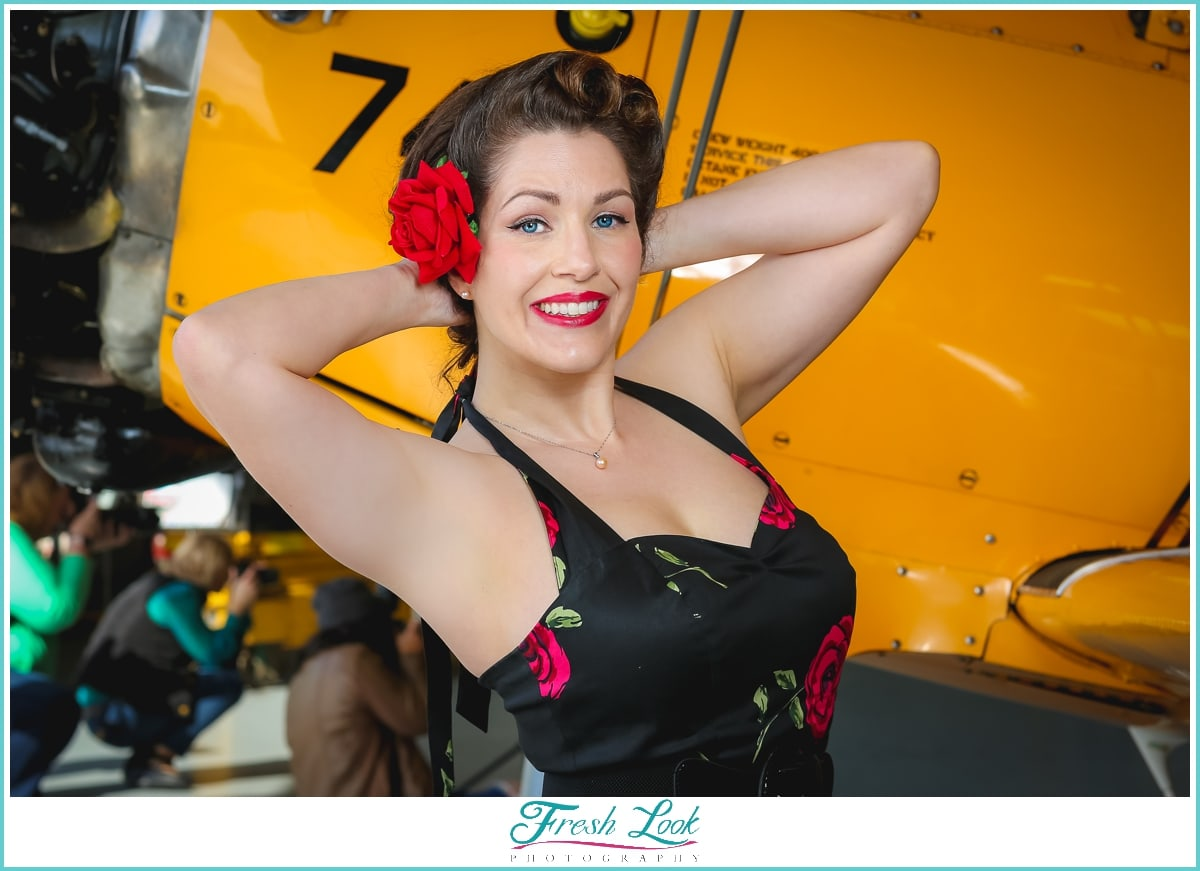 classy pin up photography