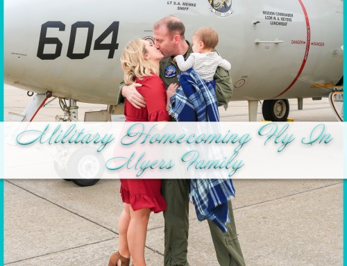 Military Homecoming Fly In | Myers Family