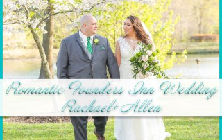 Romantic Founders Inn Wedding