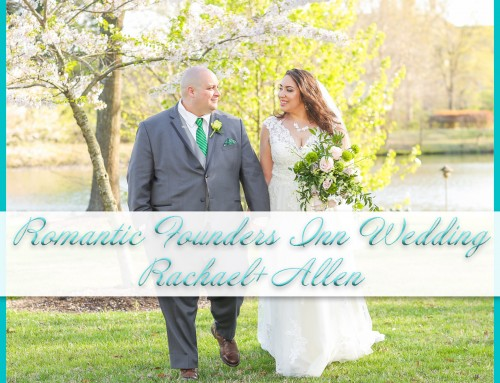 Romantic Founders Inn Wedding | Rachael+Allen