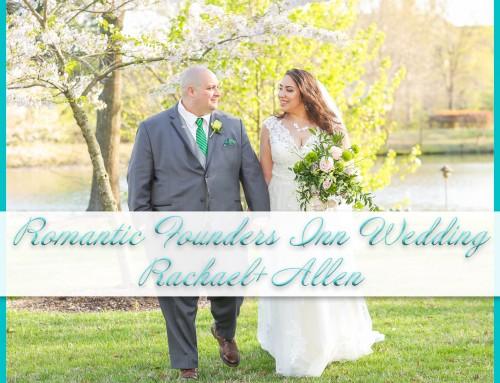 Romantic Founders Inn Wedding | Rachael+Allen