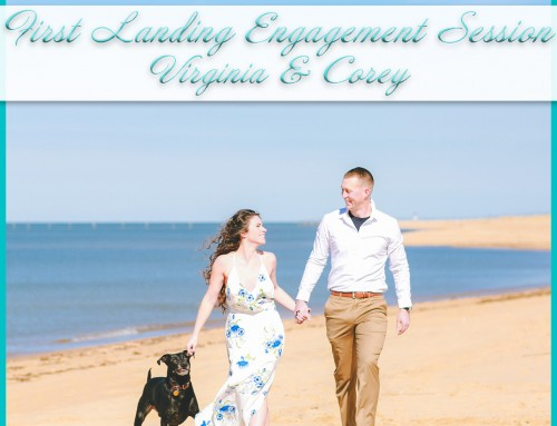 Winter Beach Engagement Photos | Virginia+Corey