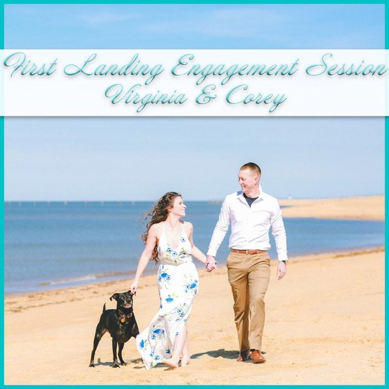 Winter Beach Engagement Photos