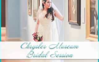 Chrysler Museum Bridal Session