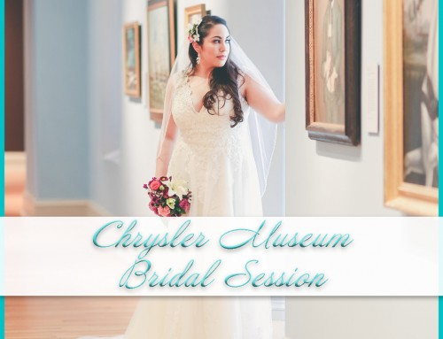 Chrysler Museum Bridal Session | Rachael